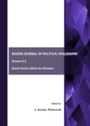 None Review Journal of Political Philosophy Volume 8.2 : Naomi Zack's Ethics for Disaster - eBook