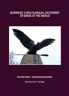 Burridge's Multilingual Dictionary of Birds of the World : Volume XXXVI Hungarian (Magyar) - eBook