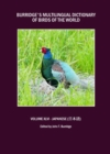 Burridge's Multilingual Dictionary of Birds of the World : Volume XLVI Japanese (      e z) - eBook