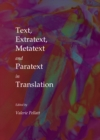 Text, Extratext, Metatext and Paratext in Translation - eBook