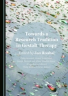 Towards a Research Tradition in Gestalt Therapy - eBook