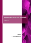 None Review Journal of Political Philosophy Volume 11 - eBook