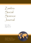 None Zambia Social Science Journal Vol. 3, No. 1 (April 2012) - eBook