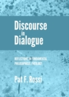 Discourse in Dialogue : Reflections in Fundamental Philosophical Theology - eBook