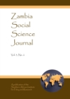 None Zambia Social Science Journal Vol. 3, No. 2 - eBook