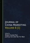 None Journal of China Marketing Volume 6 (1) - eBook