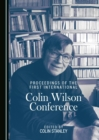 None Proceedings of the First International Colin Wilson Conference - eBook