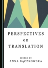 Perspectives on Translation - eBook