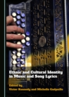 None Ethnic and Cultural Identity in Music and Song Lyrics - eBook
