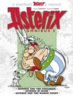 Asterix Omnibus 5 : Asterix and The Cauldron, Asterix in Spain, Asterix and The Roman Agent - Book