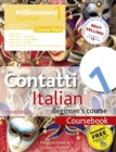 Contatti 1 Italian Beginner's Course 3rd Edition : Course Pack - Book