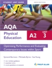AQA A2 Physical Education Student Unit Guide New Edition: Unit 3 Optimising Performance and Evaluating Contemporary Issues within Sport - Book