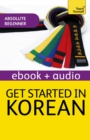 Get Started in Korean Absolute Beginner Course : Audio eBook - eBook