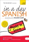 Beginner's Spanish in a Day: Teach Yourself : Audio CD - Book