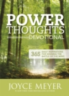 Power Thoughts Devotional : 365 daily inspirations for winning the battle of your mind - Book