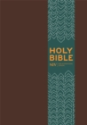 NIV Pocket Brown Imitation Leather Bible - Book