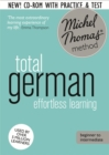 Total German Course: Learn German with the Michel Thomas Method) : Beginner German Audio Course - Book