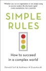 Simple Rules : How to Succeed in a Complex World - Book