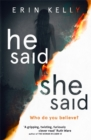 He Said/She Said : the must-read bestselling suspense novel of the year - Book