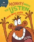Monkey Needs to Listen - A book about paying attention - Book