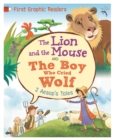 First Graphic Readers: Aesop: The Lion and the Mouse & the Boy Who Cried Wolf - Book