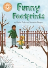 Reading Champion: Funny Footprints : Independent Reading Orange 6 - Book