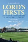 Lord's Firsts : 200 Years of Making History at Lord's Cricket Ground - eBook