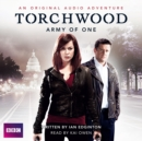 Torchwood  Army Of One - Book