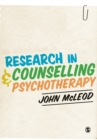 An Introduction to Research in Counselling and Psychotherapy - Book