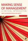 Making Sense of Management : A Critical Introduction - eBook