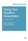 Doing Your Master's Dissertation : From Start to Finish - Book