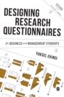 Designing Research Questionnaires for Business and Management Students - Book