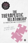 The Therapeutic Relationship in Counselling and Psychotherapy - Book