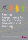 Passing Assessments for the Certificate in Education and Training - Book
