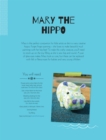 Mary the Hippo Soft Toy Pattern - eBook