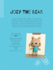 Joey the Bear Soft Toy Pattern - eBook