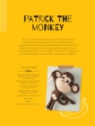 Patrick the Monkey Soft Toy Pattern - eBook