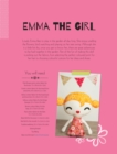 Emma the Girl Soft Toy Pattern - eBook