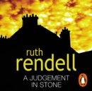 A Judgement In Stone - eAudiobook