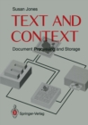 Text and Context : Document Storage and Processing - eBook