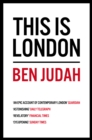 This is London : Life and Death in the World City - eBook