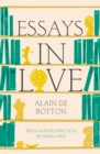 Essays In Love - Book