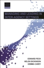 Managing and leading in inter-agency settings 2e - eBook