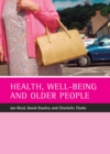 Health, well-being and older people - eBook