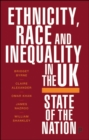 Ethnicity, Race and Inequality in the UK : State of the Nation - Book