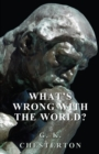 What's Wrong with the World? - eBook