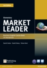 Market Leader 3rd Edition Elementary Coursebook with DVD-ROM and MyEnglishLab Student online access code Pack - Book