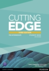 CUTTING EDGE PRE-INTERM.    3E STUDENT BOOK W/DVD   793690 - Book