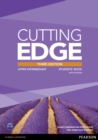 CUTTING EDGE UPPER-INTERM.  3E STUDENT BOOK W/DVD   793698 - Book