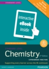 Pearson Baccalaureate Chemistry Standard Level 2nd edition ebook only edition (etext) for the IB Diploma - Book